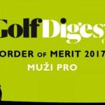 GOLF DIGEST ORDER OF MERIT 2017 – MUŽI PRO (k 30.6.2017)