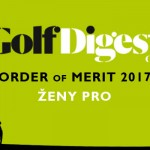 GOLF DIGEST ORDER OF MERIT 2017 – ŽENY PRO (k 30.6.2017)